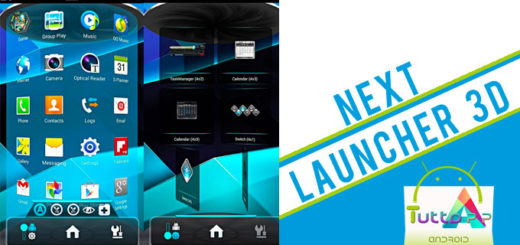 Next launcher 3D per Android
