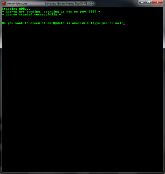 Schermata iniziale Toolkit per Root e sblocco bootloader Galaxy Nexus