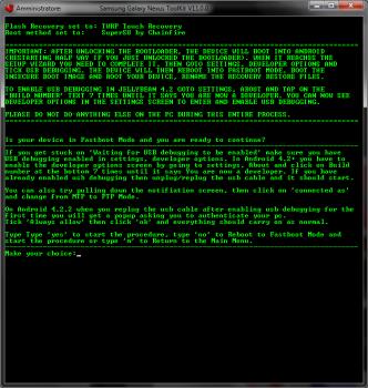 Conferma root e sblocco bootloader Galaxy Nexus