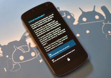 Root e sblocco bootloader Galaxy Nexus