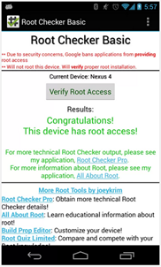 Root su Nexus 4 Android 4.3