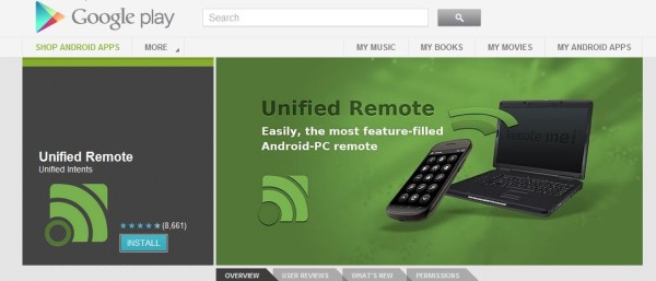 Photo of Unified Remote – Controllare il PC da smartphone