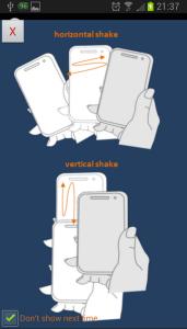 spiegazione shake