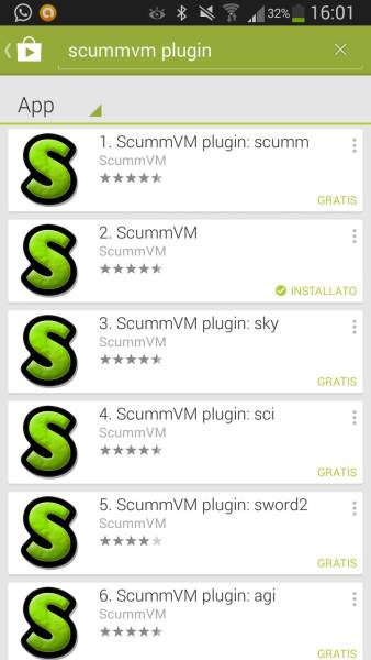 Come installare l'emulatore ScummVM su Android