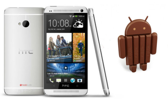 HTC-One-android 4.4 kitkat