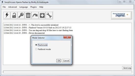Come installare firmware Sony Xperia U