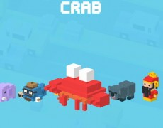 crossy road-granchio