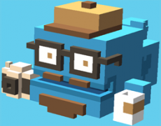 crossy road-hipsterwhale