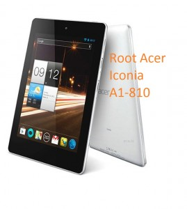 root acer iconia a1-810