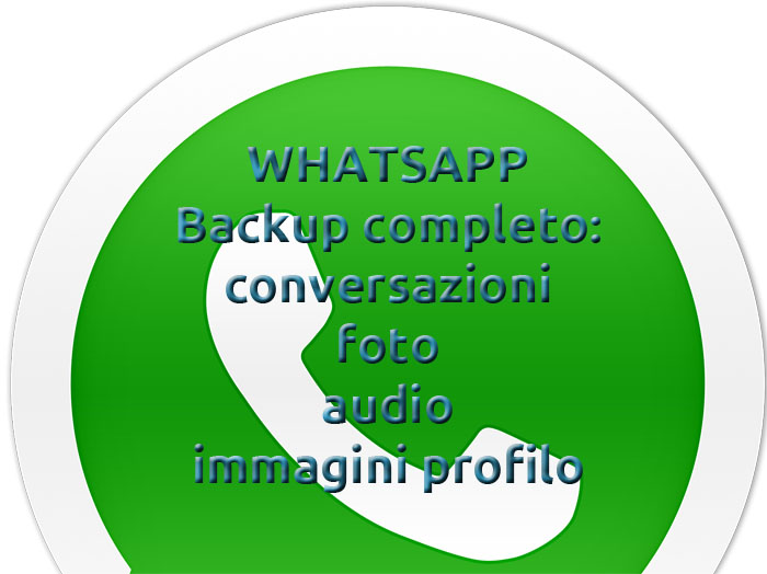 Photo of Come effettuare backup su Whatsapp: chat, foto, audio