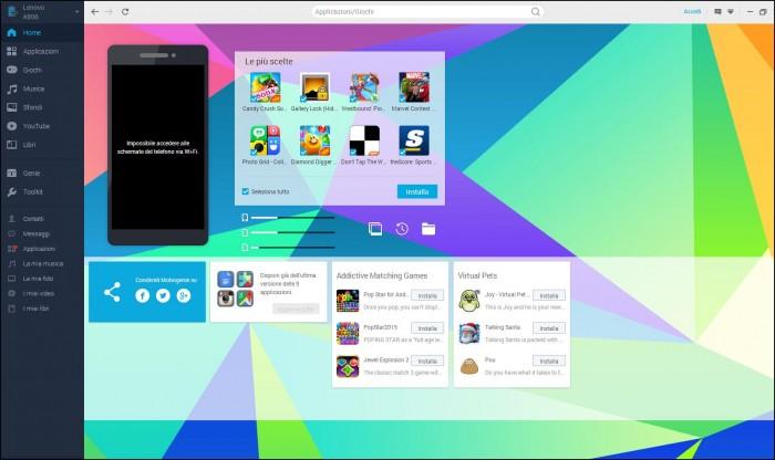 Migliori applicazioni per controllare smartphone da pc: Genie Wifi