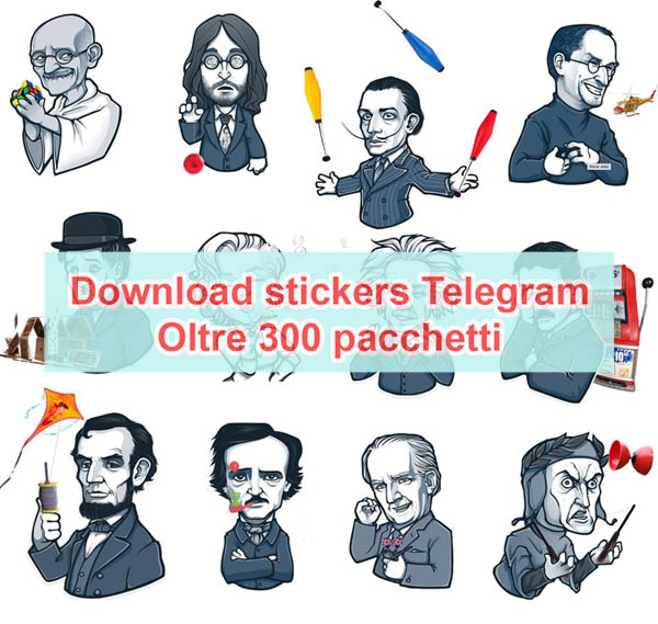 Photo of Download stickers Telegram (centinaia di pacchetti)