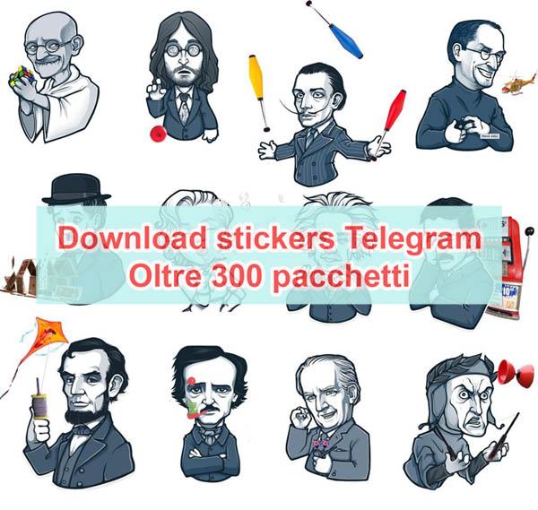 download stickers telegram