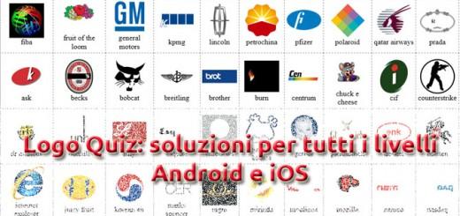 logo quiz soluzioni livelli android iOS
