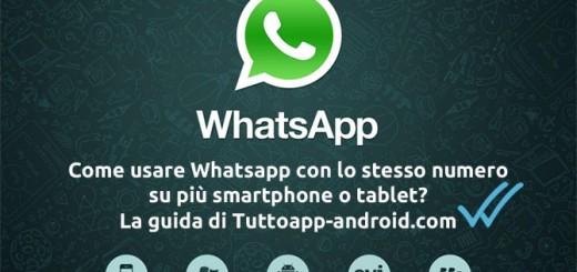 usare Whatsapp su due dispositivi