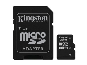 Migliori Micro SD - Kingston 8GB
