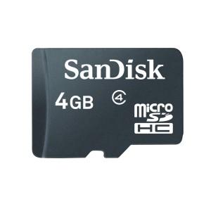 Migliori Micro SD - SanDisk Scheda 4 GB