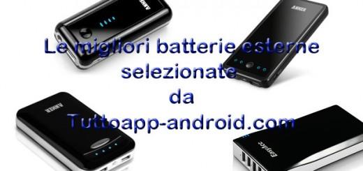 Migliori batterie esterne 2015