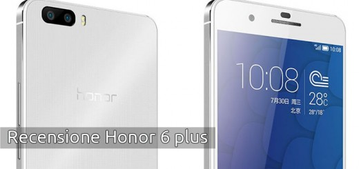 Recensione Honor 6 plus