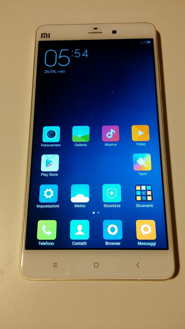 Recensione Xiaomi Mi Note pro - Interfaccia