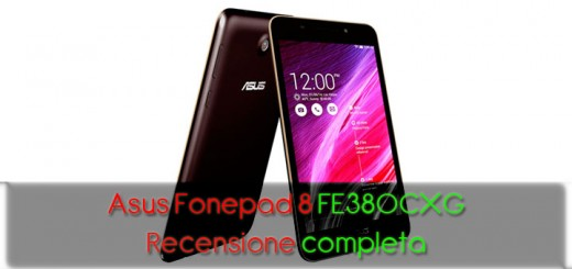 Asus Fonepad 8 FE380CXG - Recensione completa