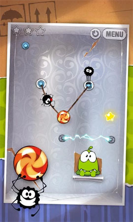 Giochi rompicapo per Android - Cut the rope