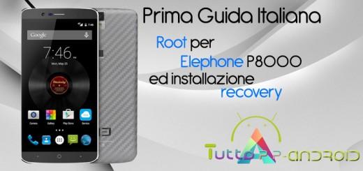 Root per Elephone P8000