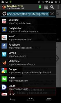 App android per scaricare musica - TubeMate
