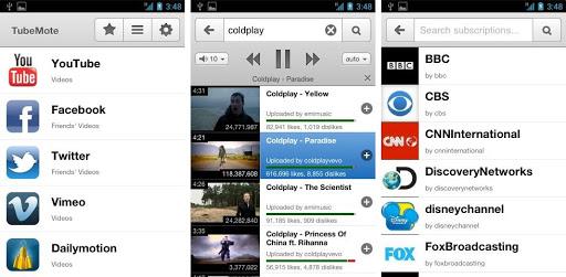 App android per scaricare musica - TubeMote