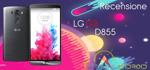 Recensione del LG G3 D855