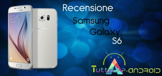 Recensione Samsung Galaxy S6
