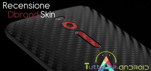 Recensione dbrand skin