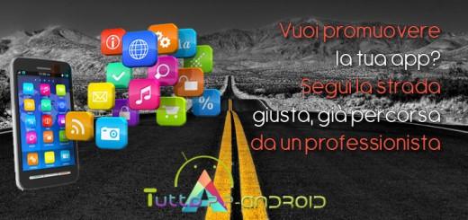 come promuovere app