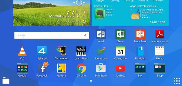 Recensione Samsung Galaxy Tab 4