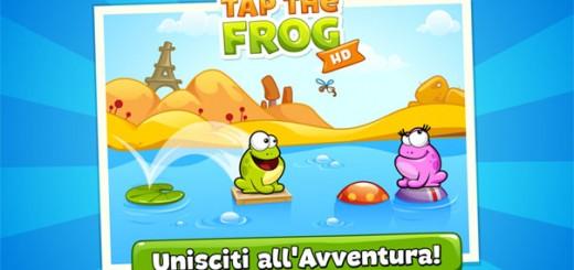 Tap the frog - mini giochi divertenti