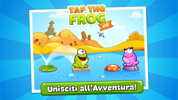 Tap the frog - mini giochi divertenti