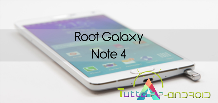 Photo of Root Galaxy Note 4 con Cf-Auto-Root