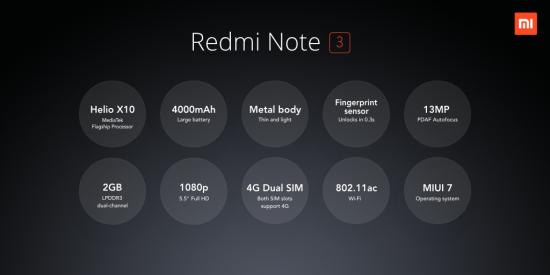 Recensione Xiaomi Redmi Note 3 confezione caratteristiche