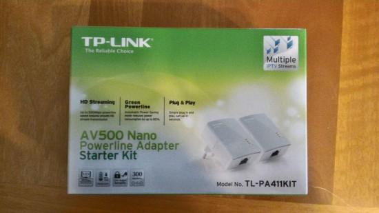 Recensione Powerline AV500 TP Link