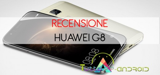 Recensione Huawei G8