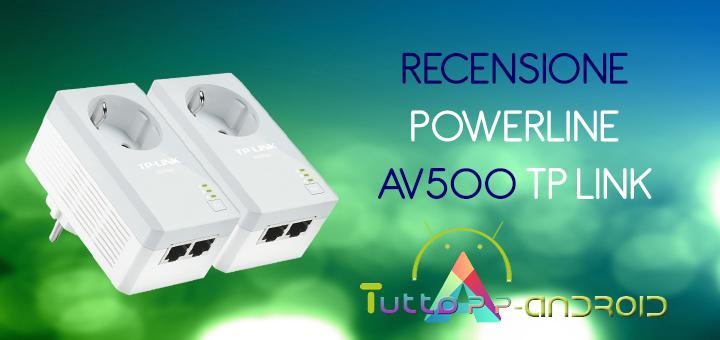 Photo of Recensione Powerline AV500 TP Link