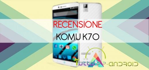 recensione Komu K70