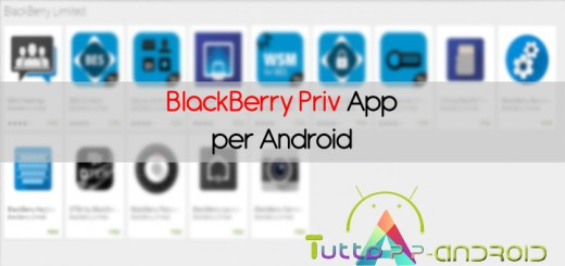 App blackberry priv android