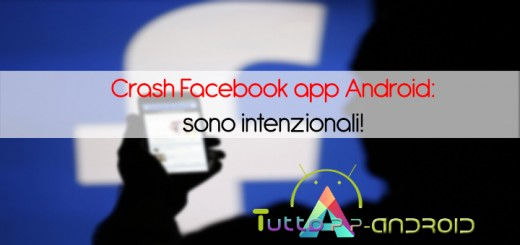 Crash Facebook app Android