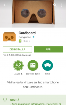 Google CardBoard su www.tuttoapp-android.com