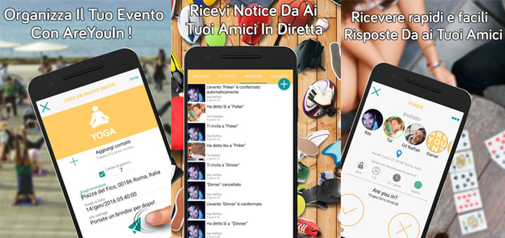 Photo of App per organizzare eventi: AreYouIn per Android e iOS