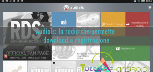 Audials - Radio per Android che registra