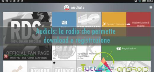 Audials - Radio per Android che registra