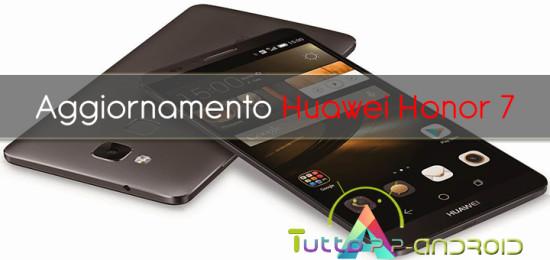Photo of Aggiornamento Honor 7 ad Android Marshmallow
