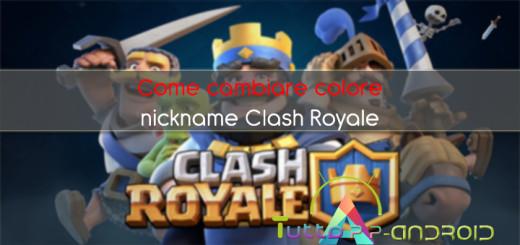 Come cambiare colore nickname Clash Royale - Guida